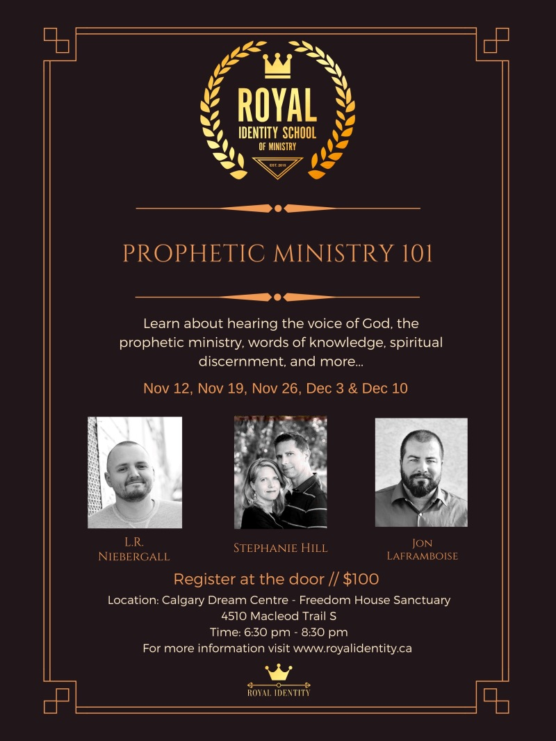 Track 2 - Prophetic Ministry 101