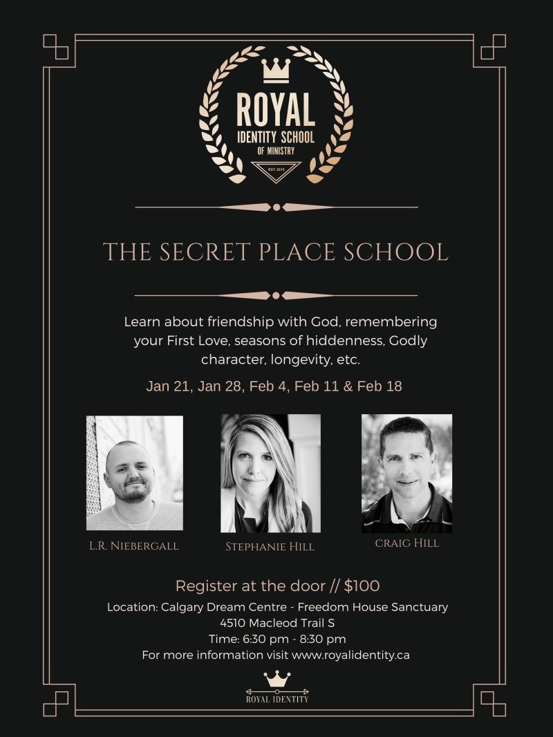 Track 3 The Secret Place School.